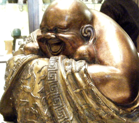 Happiest Buddha Ever!