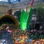 Bellagio Atrium Gardens in Las Vegas