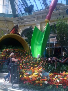 Bellagio Atrium Gardens in Las Vegas