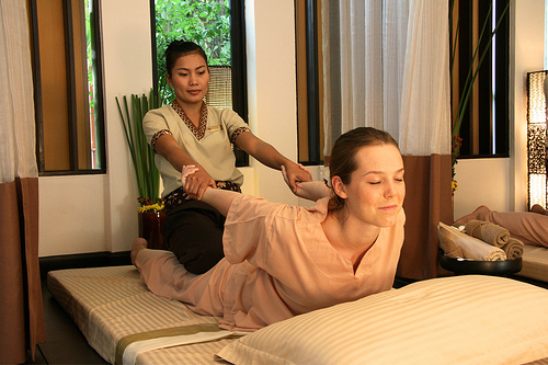 Thai Massage ~ Yoga For People Who Can't Be Bothered To Do It