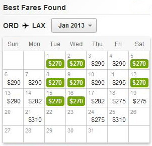 Cheapest Day to Fly