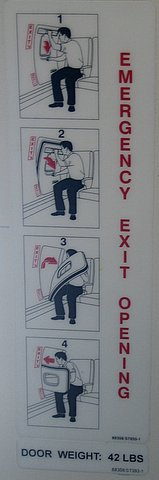 Passenger Opens Emergency Exit to Get Crying Kid Off Plane