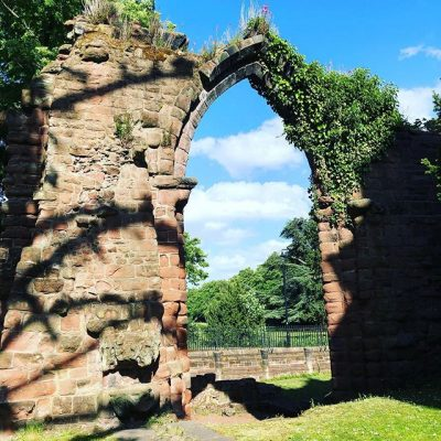 Ancient Ruins in Chester England