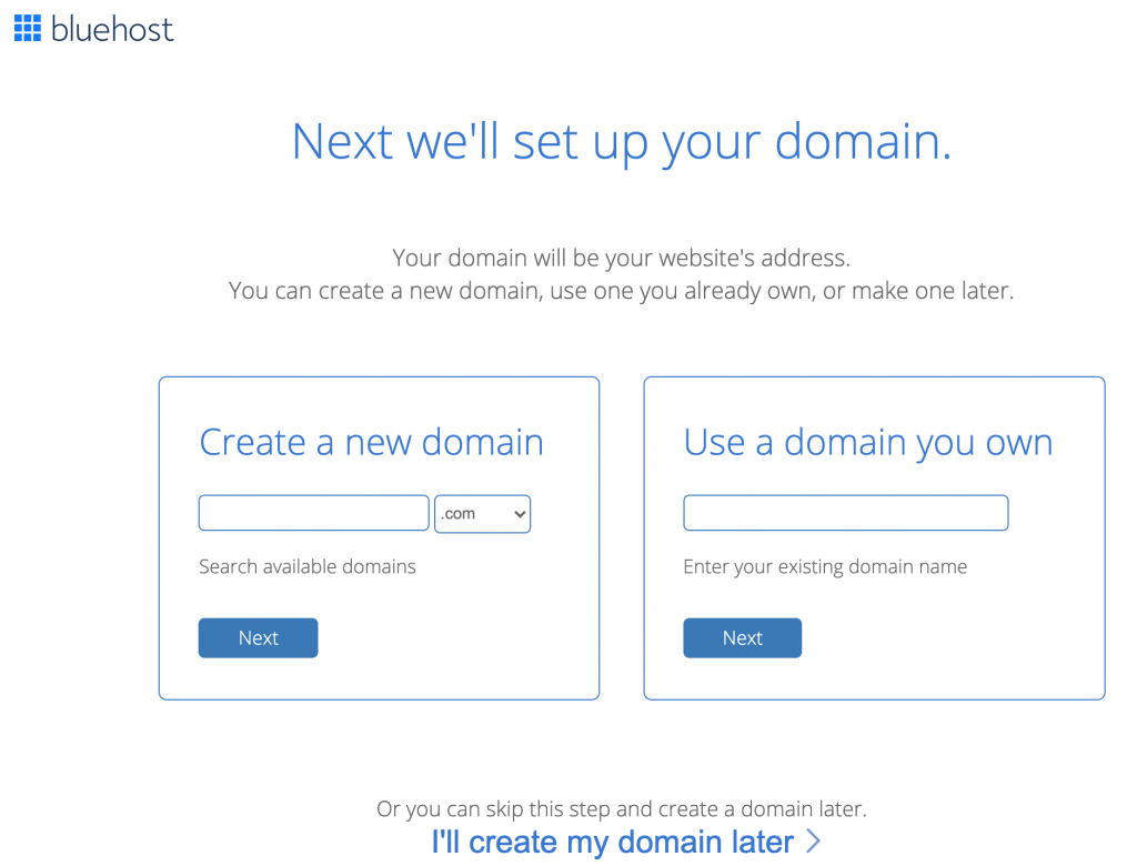 Step 2: Travel Blog Setup Register Your Domain